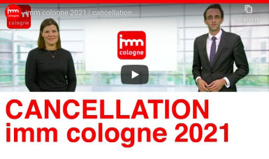 Edition of 2021 Imm Cologne Cancelled Due to Pandemic (Covid-19)